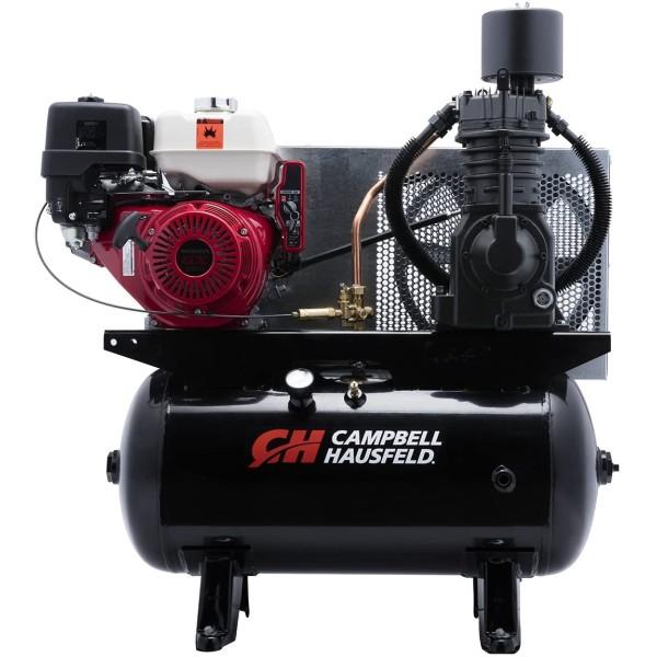 Campbell Hausfeld Portable Electric Air Compressor - 3.2 HP, 30-Gallon Horizontal, 10.2 CFM