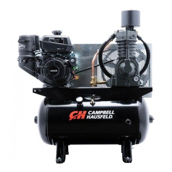 Chicago Pneumatic Gas-Powered Air Compressor - 11 HP, 30 Gallon