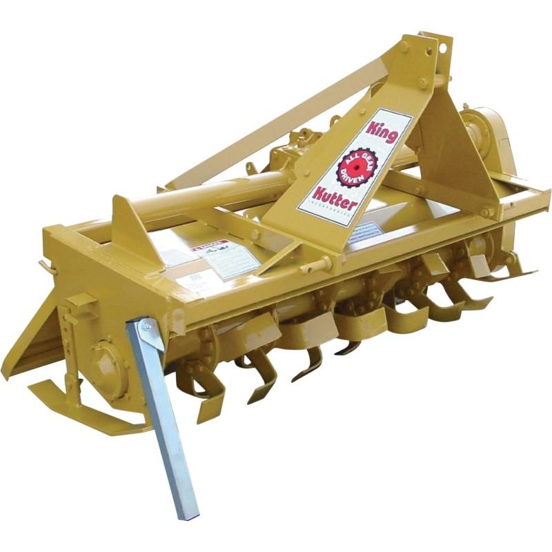 King Kutter Gear-Driven Rotary Tiller - 4ft Tiller Width TG-48
