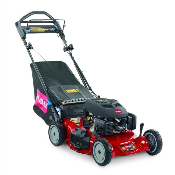 """Toro Super Recycler 21"""" 159cc Personal Pace Lawn Mower w/ Blade Stop"""