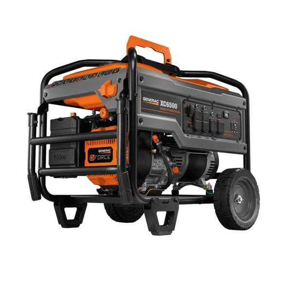 Generac 6824 426cc 6,500-Watt Carb Compliant Portable Generator - XC6500