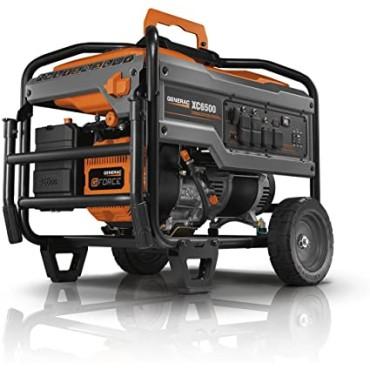 Generac XC6500E - 6500 Watt Electric Start Professional Portable Generator
