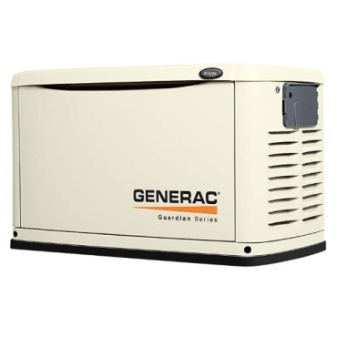 Generac Guardian 8kW Standby Generator System (50A 10-Circuit Automatic Switch)