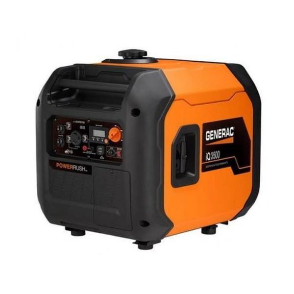 Generac iQ3500 - 3000 Watt Ultra-Quiet Electric Start Portable Inverter Generator (CARB)