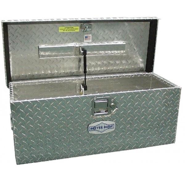 Better Built Crown Series 20-in Silver Aluminum Lockable Tool Box