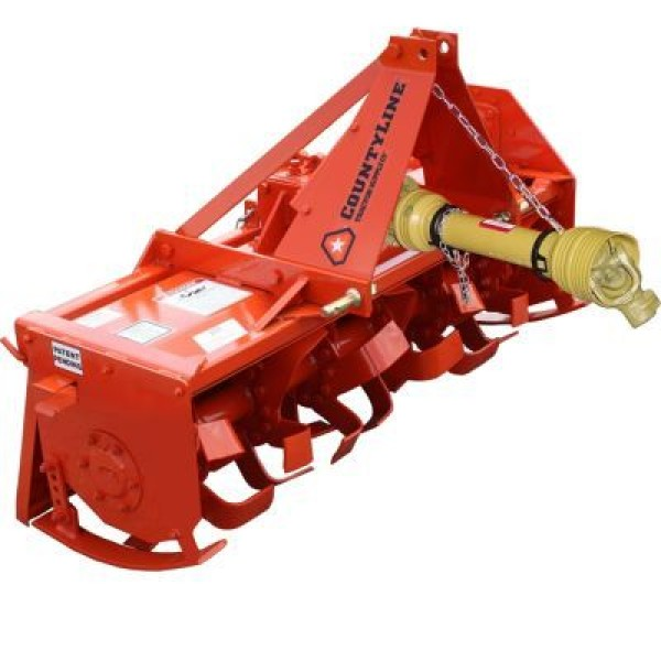 CountyLine Rotary Tiller, Sub-Compact, 4 ft. W