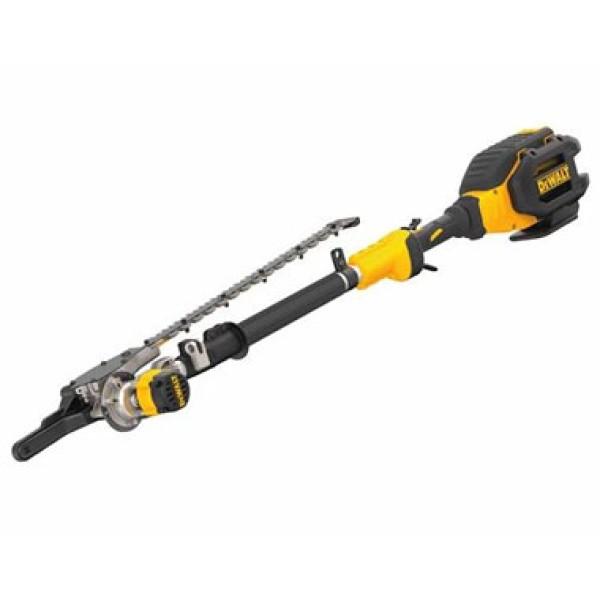 DeWalt 40V DCHT895X1 45 - 70 Battery Powered Pole Hedge Trimmer (7.5 Ah)