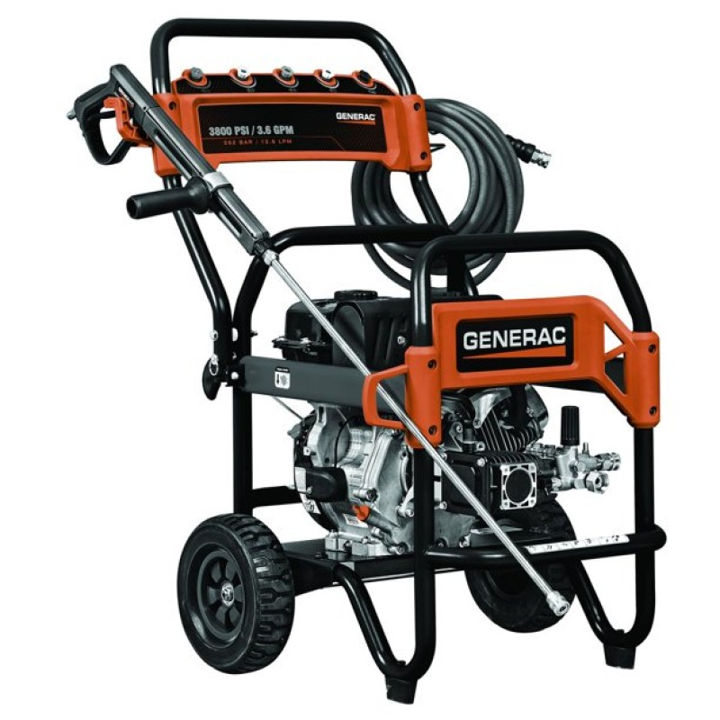 Generac 3800PSI (3.6 GPM) Commercial Pressure Washer
