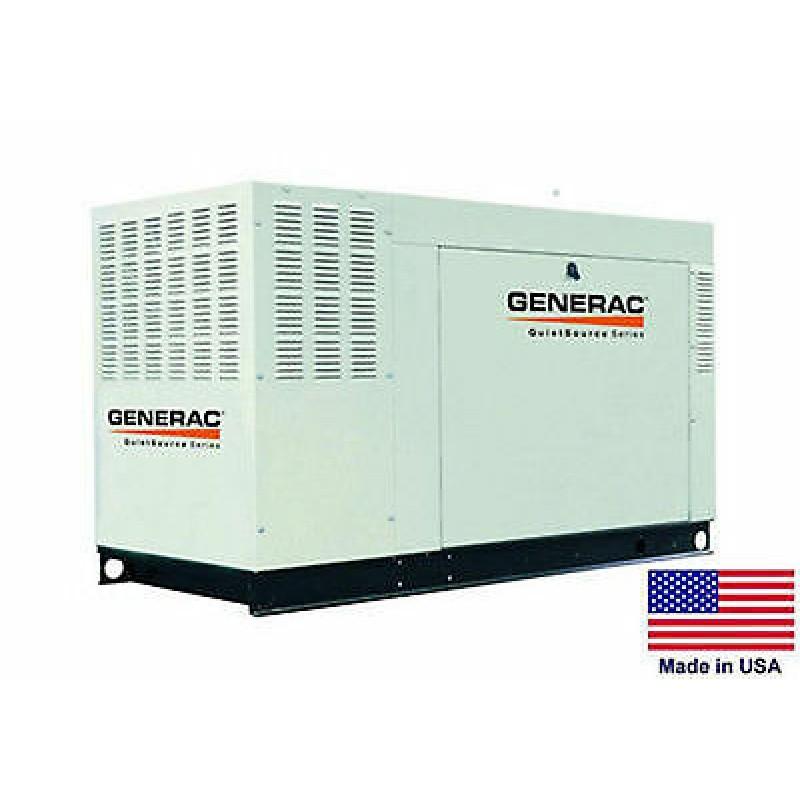 Generac GNC-QT07068X 70kW 1,800-Rpm Commercial Series Aluminum Enclosed Generator