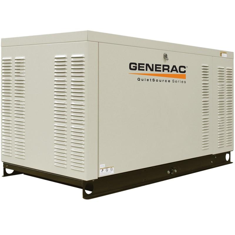 Generac GNC-QT02515 25kW 3,600-Rpm Commercial Series Steel Enclosed Generator