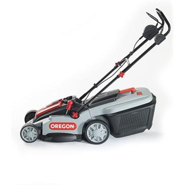 """Oregon LM300 Cordless Battery-Powered 16"""" Lawn Mower (Battery + Charger Included)"""