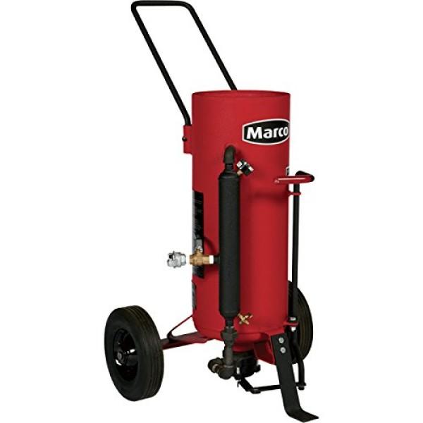 Marco Air-Blast Abrasive Blasting Package -150-Lb. Capacity, 1.5 Cubic Ft