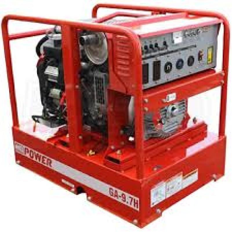 Multiquip GA97HEA 9,700-Watt 16.6-Hp 120/240-Volt Brushless Gas Powered Generator