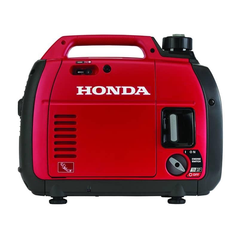 Honda EU2200i 2200-Watt 121cc Super Quiet Gas Powered Portable Inverter Generator