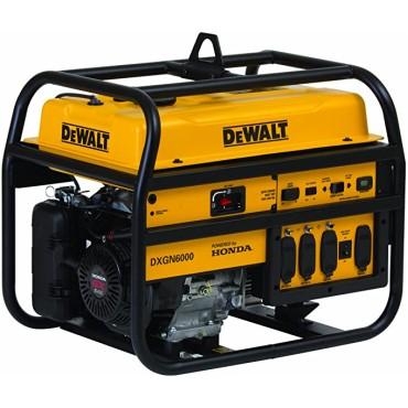 DeWalt DXGN6000 - 5300 Watt Professional Portable Generator w- Honda GX Engine