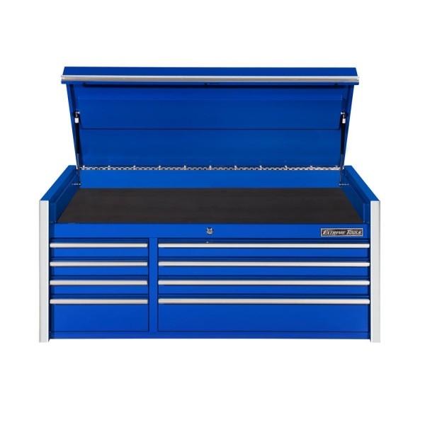 Extreme Tools 55 In. 8-Drawer Top Chest, Blue