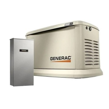 Generac Guardian 11kW Aluminum Standby Generator System (200A Service Disconnect + AC Shedding)  Wi-Fi